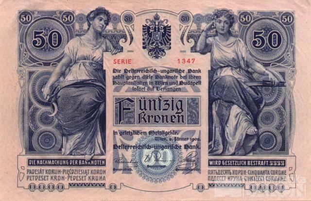 KOPIE 50K/1902/, stav UNC