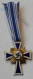 Německo - mateřský kříž 1tř. - zlatý stupěň