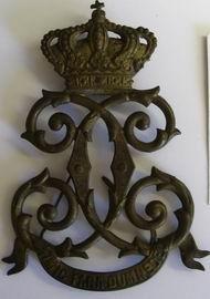 Rumunsko - královský monogram