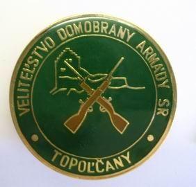 Slovensko - Velitelství domobrany Topolčany