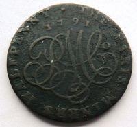Anglie 1/2 TOKEN 1791 ANGLESEY