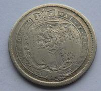 Anglie Schilling 1820 Jiří III.