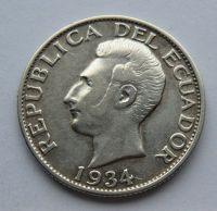 Ekvádor 1 Sucré 1934