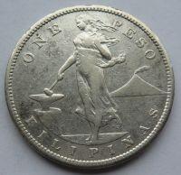 Filipíny 1 Peso 1908