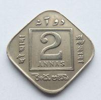 Indie 2 Annas 1918