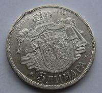 Srbsko 5 Dinár 1904