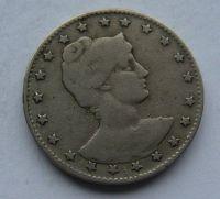 Brazílie 100 Reis 1901