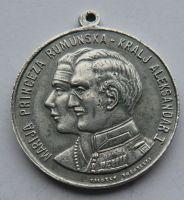 Rumunsko - Marie + Alexandr I. 1922