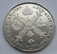 Uhry 1/4 Tolar 1797 B - křížový František II.