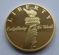 USA - medaile Liberty pochodeň