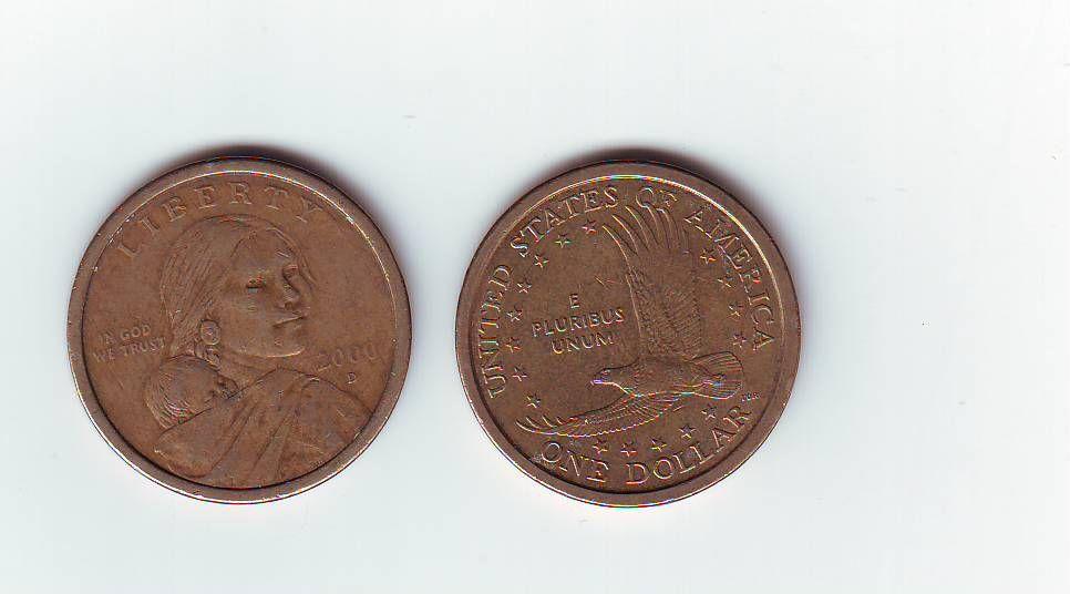 1 Dollar(2000-USA), stav 1-/2