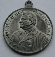 Čechy dr.Jan Burian předseda katolické jednoty 1902