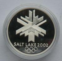 ČSR Ag medaile Český olympijskývýbor Salt Lake 2002