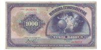 1000Kč/1919/, stav 2, série D