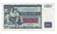 1000Ks/1934-39, přetisk Slovenský Štát/, stav 0 perf. 2x SPECIMEN, série M