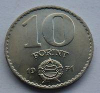 Maďarsko 10 Forint 1971