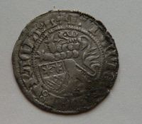 Hessen štítový groš 1458-71 Ludvík III.