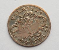 Salzburg 1 Krejcar 1673 Sigmund III. Hieronimus