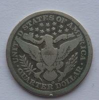 USA 1/4 Dol. 1898