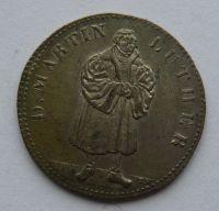 Německo Luther 1830 Ag med
