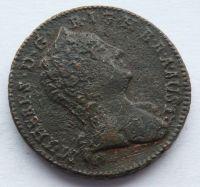 Rakousko 1 Krejcar 1760 W Marie Terezie