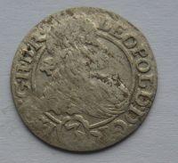 Slezsko 3 Krejcar 1667 Leopold I.