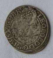 Slezsko 3 Krejcar 1668 Vratislav SHS - Leopold I.