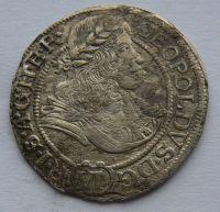 Slezsko VI. Krejcar 1673 Leopold I.