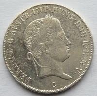 Čechy 20 Krejcar 1844 C - Ferdinand V.