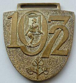 ČSSR soutěž požárních ružstev 1972