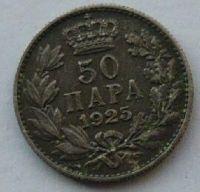 Srbsko 50 Para 1925