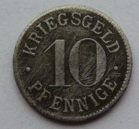 Heidelberg 10 Pf nouzovka bez letop.