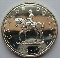 kanada 1 Dollar 1873-1973