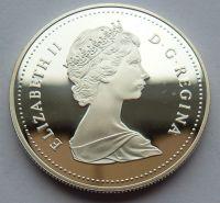 Kanada 1 Dollar kováři 1988