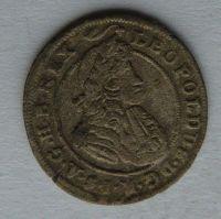 Slezsko - Břeh 1 Krejcar 1700 B Leopold I.