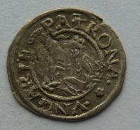 Uhry Denár 1569 KB Maxmilián II.