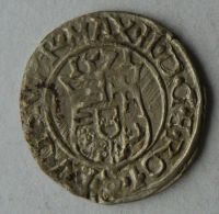Uhry Denár 1574 KB Maxmilián II.