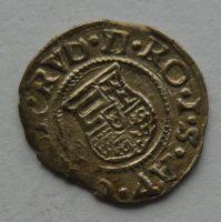 Uhry Denár 1586 KB Rudolf II.