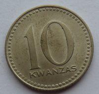 Angola 10 Kwanres 1975