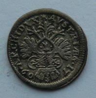 Bavorsko 3 Krejcar 1709 Josef I.