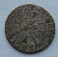 Salzburg 1 Krejcar 1619-53 Paris Lodron