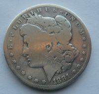 USA 1 Dollar 1881