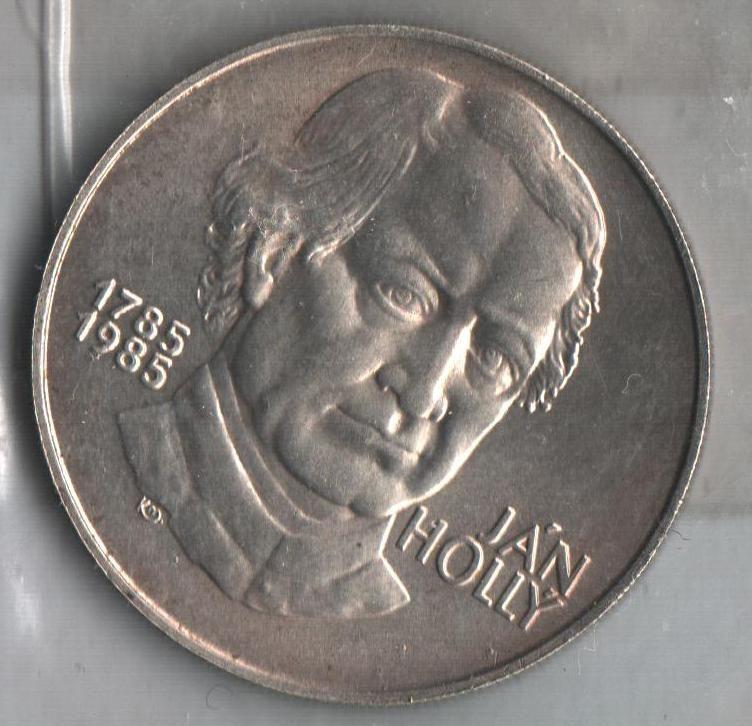 100 Kčs(1985-Ján Hollý), stav 1+/0