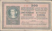 200K/1918/, stav 2- dr.n., série A 1012, bez rastru