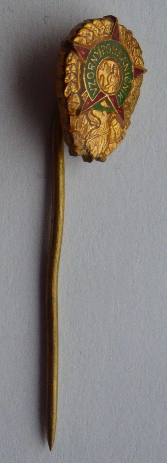 ČSSR miniatura Vzorný pohraničník