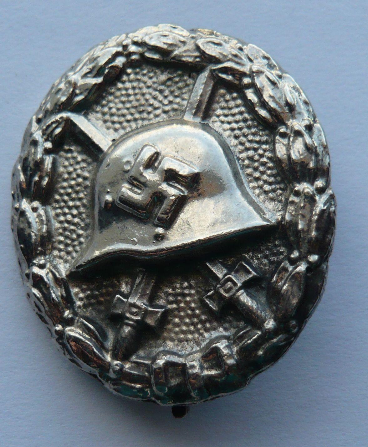 III.říše KOPIE spona pěchota těžký kov