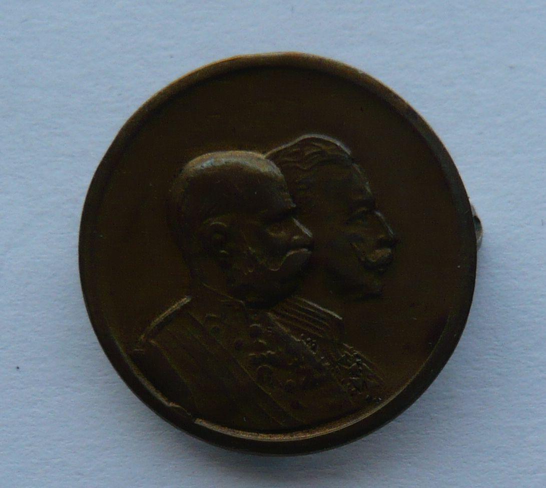 R-U dvojportrét FJI + Vilém II.