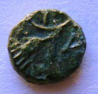 Řecko Thrákie AE 10 2.stol př.n.l. obilný klas ?? Hlava