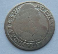 Slezsko VI. Krejcar 1665 Christián