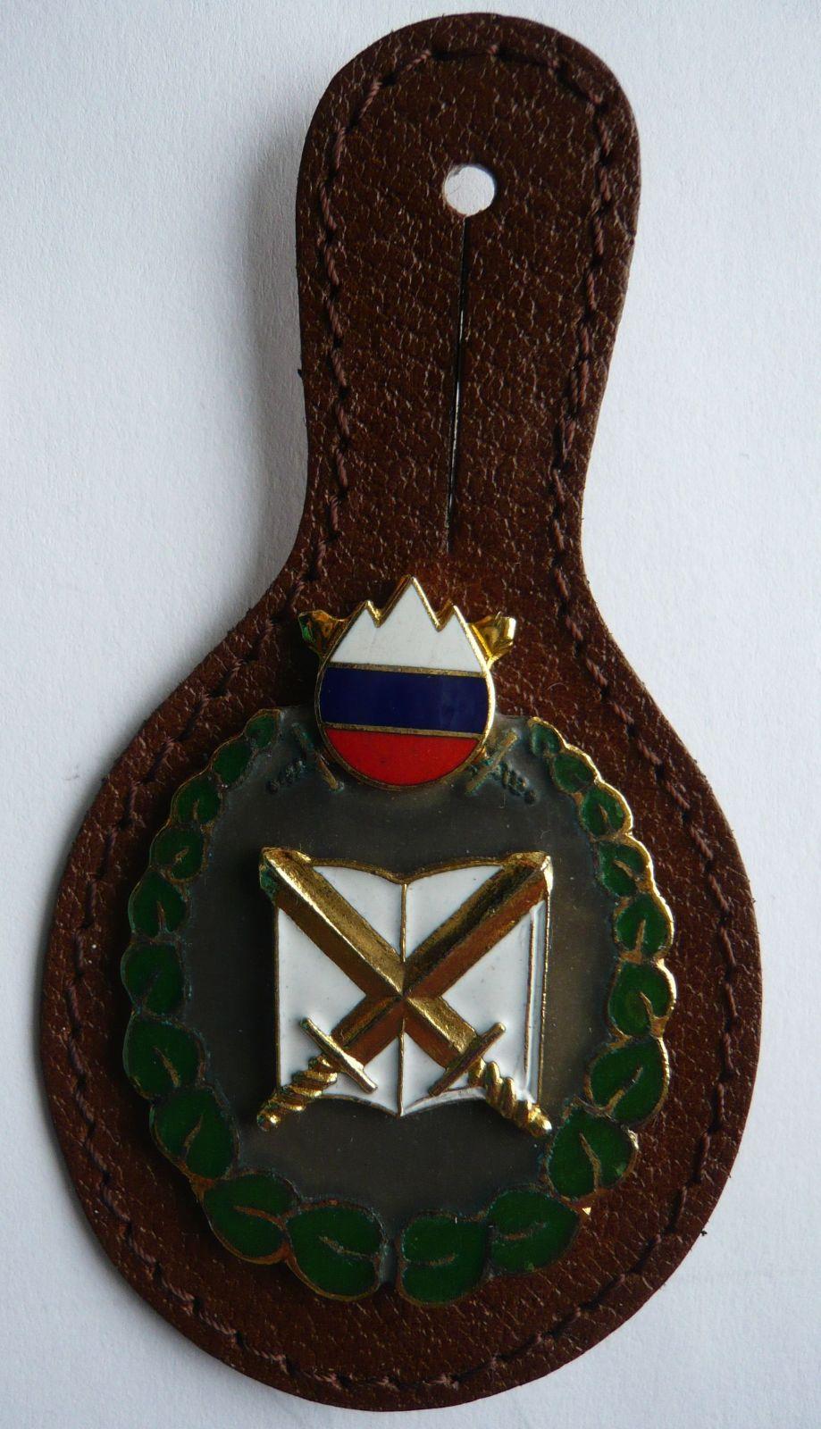 Slovinsko vojenská visačka